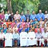 group photo with Fr cherian