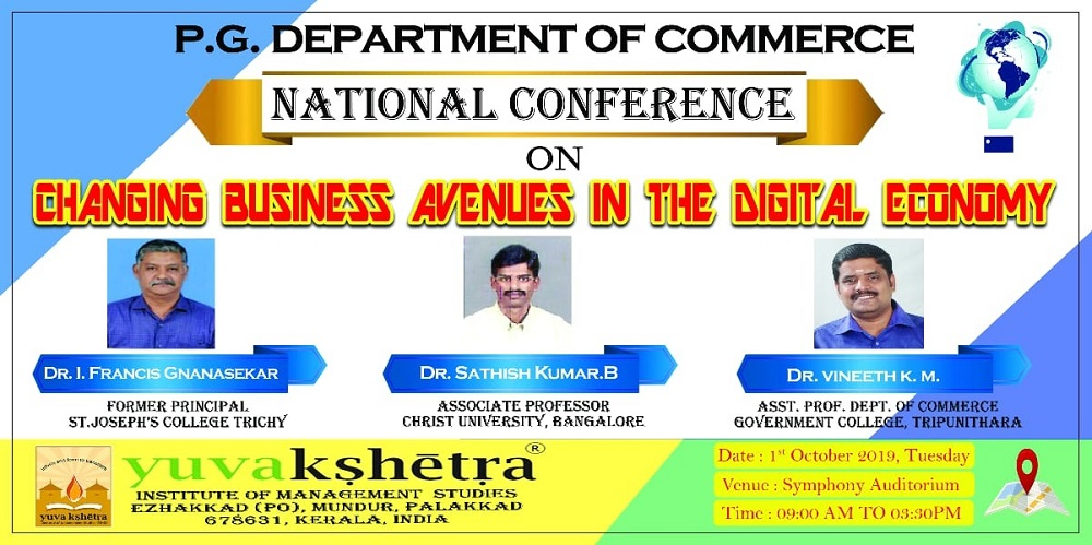 National Conference on Changing Business Avenues in the Digital Economy